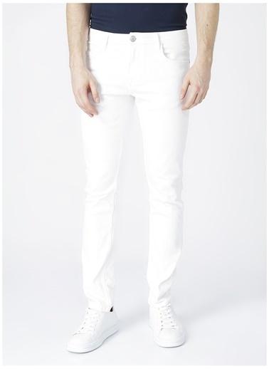 Aeropostale Aeropostale Erkek Beyaz Denim Pantolon Beyaz
